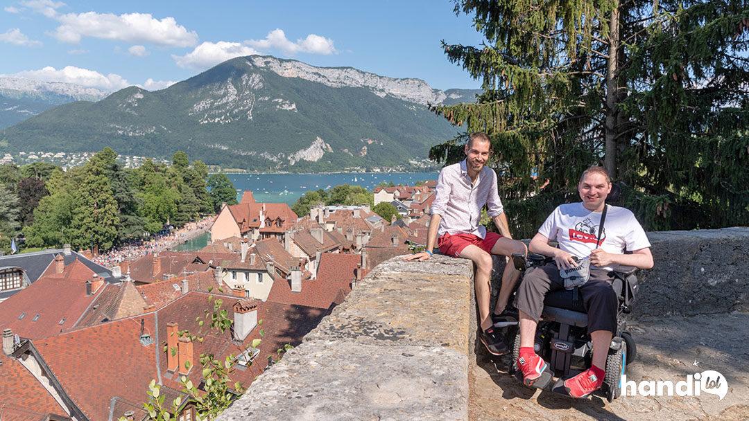 Idées de visites à Annecy : résumé de notre séjour en fauteuil roulant !