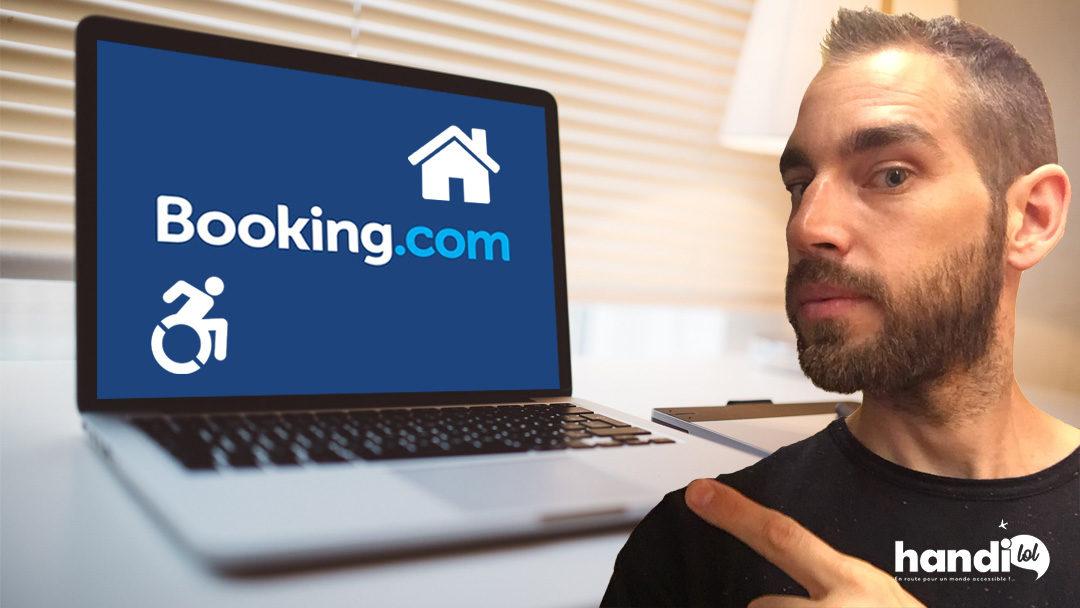 Comment trouver et réserver un logement accessible PMR sur Booking