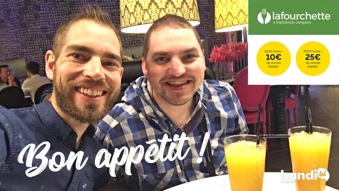 Mangez pas cher au restaurant avec l'appli LaFourchette !