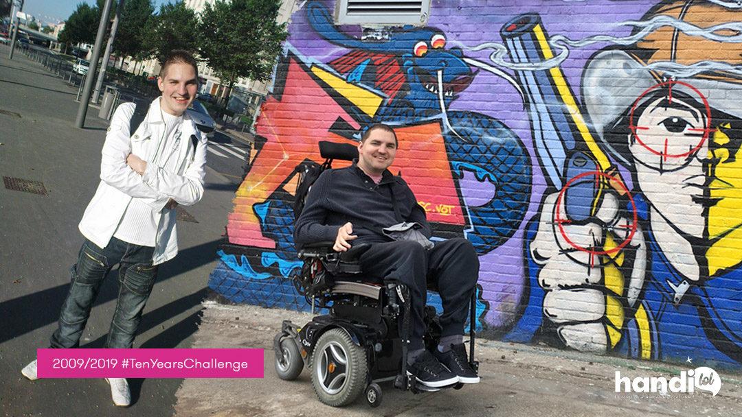 10 Years Challenge : mon incroyable vie en fauteuil roulant !