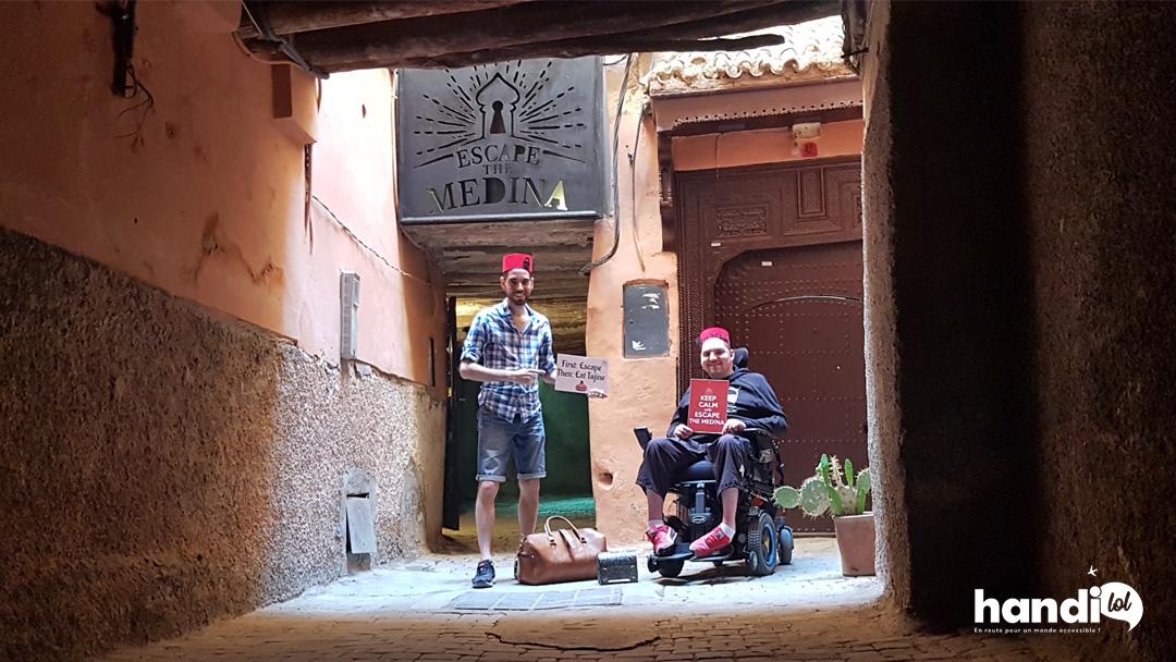 On a testé : Escape The Medina, un escape game accessible dans Marrakech !