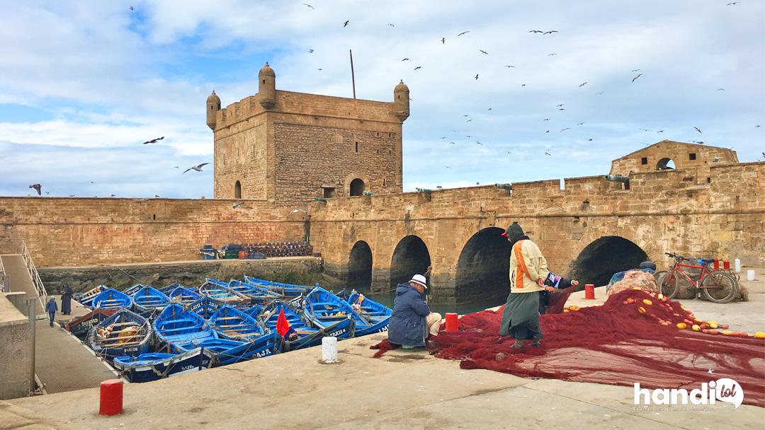 Idées de visites à Essaouira : résumé de notre séjour en fauteuil roulant !