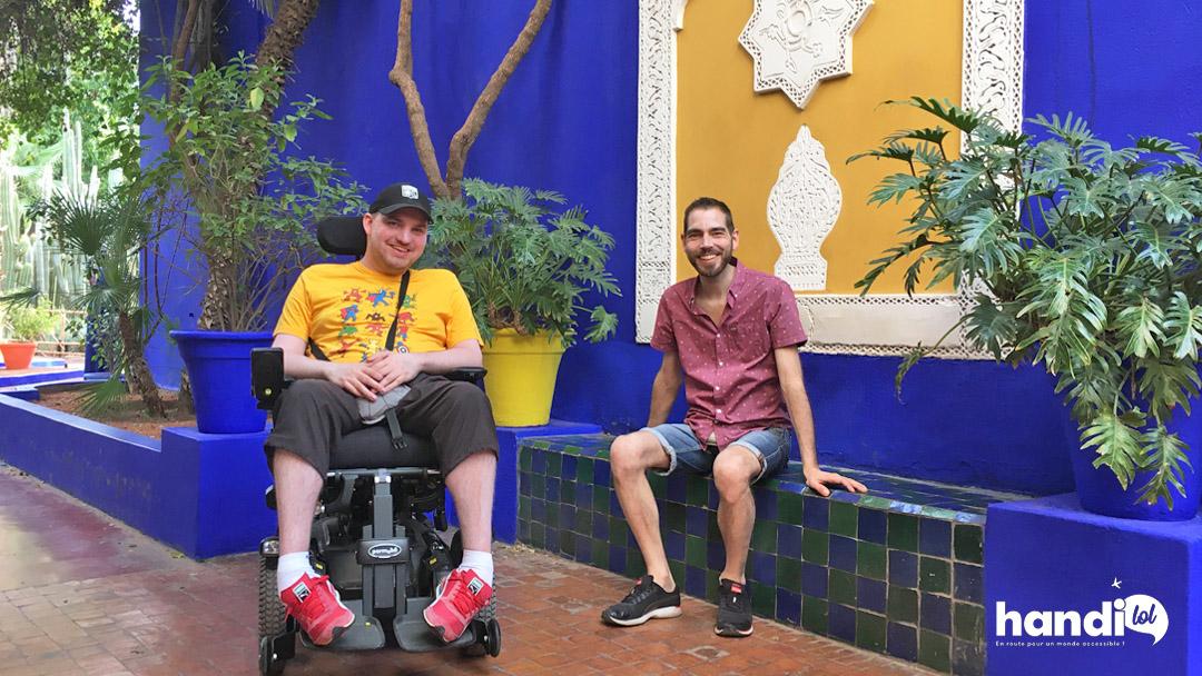 Idées de visites à Marrakech : résumé de notre séjour en fauteuil roulant !
