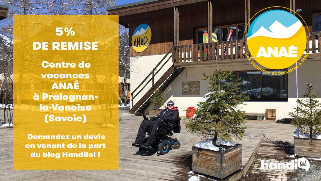 Séjour adapté PMR à la montagne au centre de vacances Anaé de Pralognan